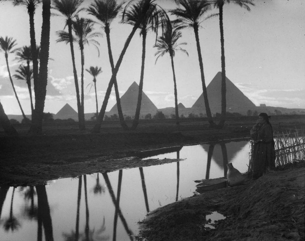 Пирамиды, 1936 год. Источник: Library of Congress