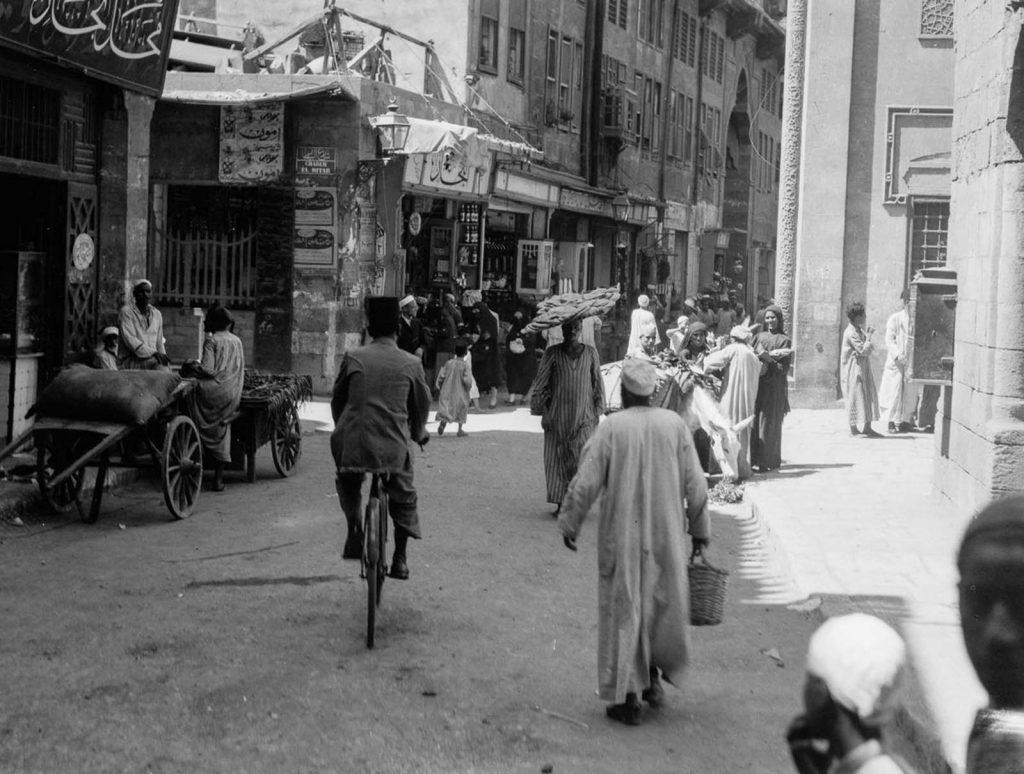 Уличная сцена, Каир, 1934 год. Источник: Library of Congress