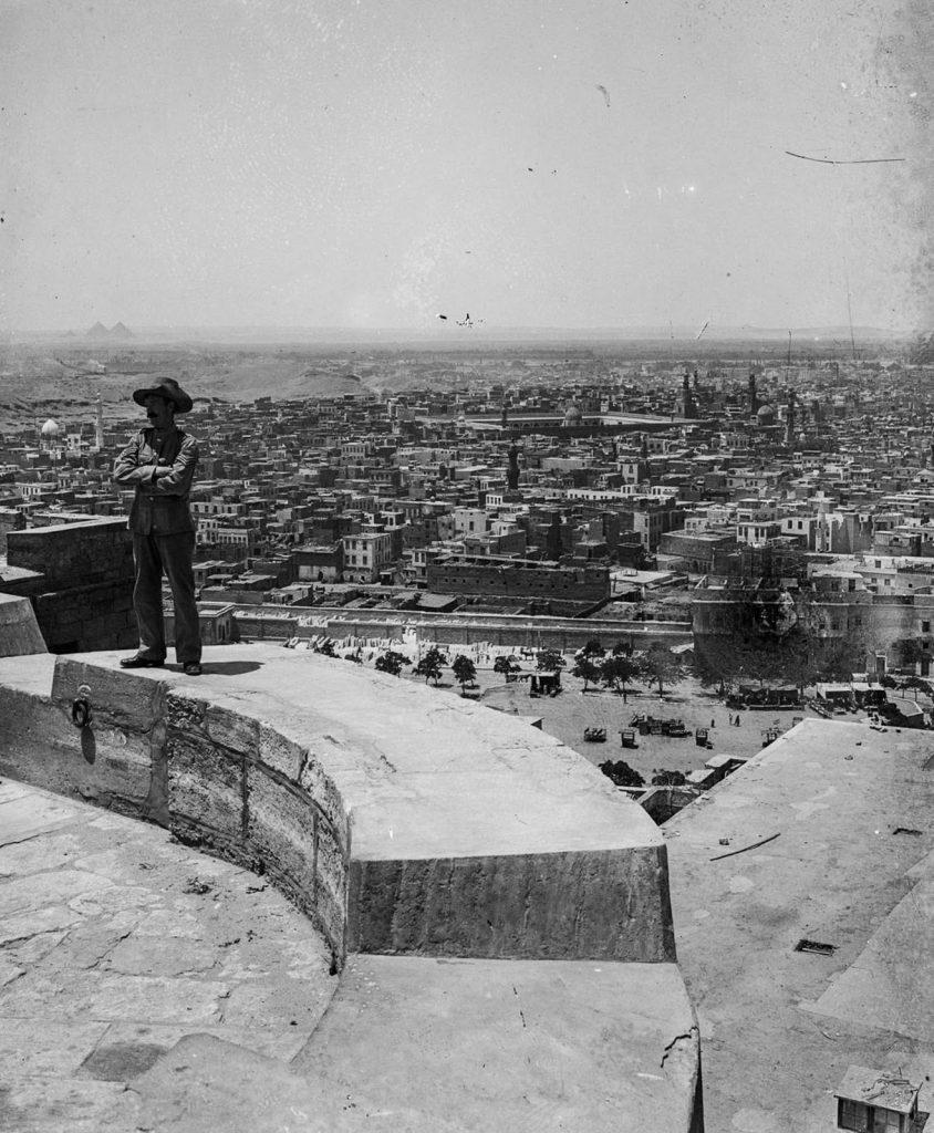 Вид на Каир с цитадели Саладина, 1900 год. Источник: Library of Congress
