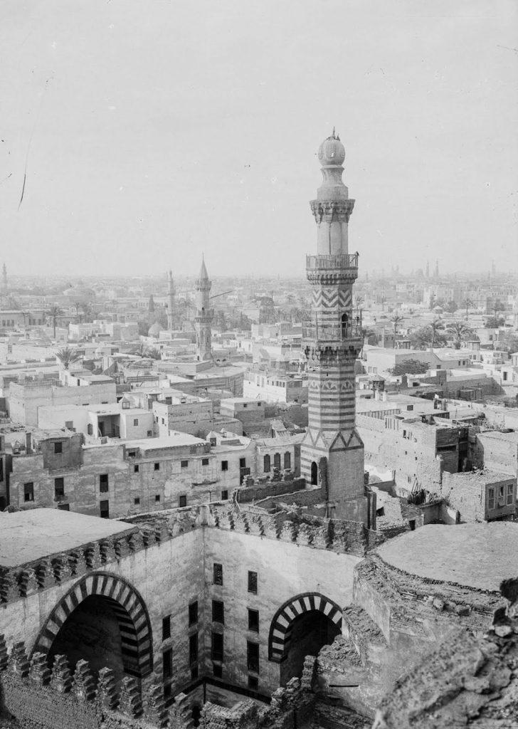 Вид с мечети Ибн Тулуна, 1900 год. Источник: Library of Congress