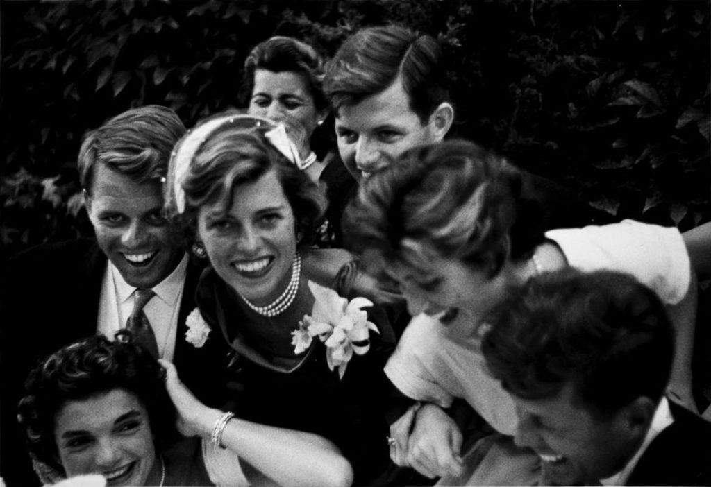 Семья Кеннеди, 1953 год.