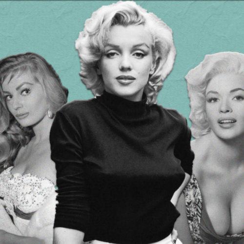 Топ-20 самых горячих блондинок 1950-х годов