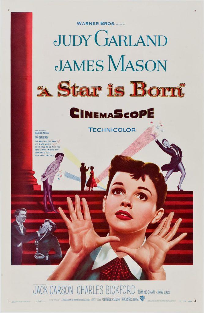 Постер фильма 1954 года «Звезда родилась». Источник: Warner Bros./Wikimedia Commons