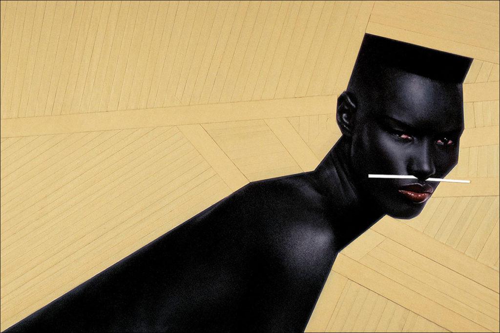 Автор: Жан-Поль Гуд. Модель: Грейс Джонс. Источник: jeanpaulgoude.com