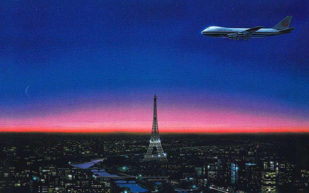 Хироси Нагаи - The Eiffel Tower