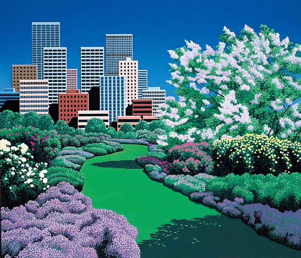 Хироси Нагаи - City Garden