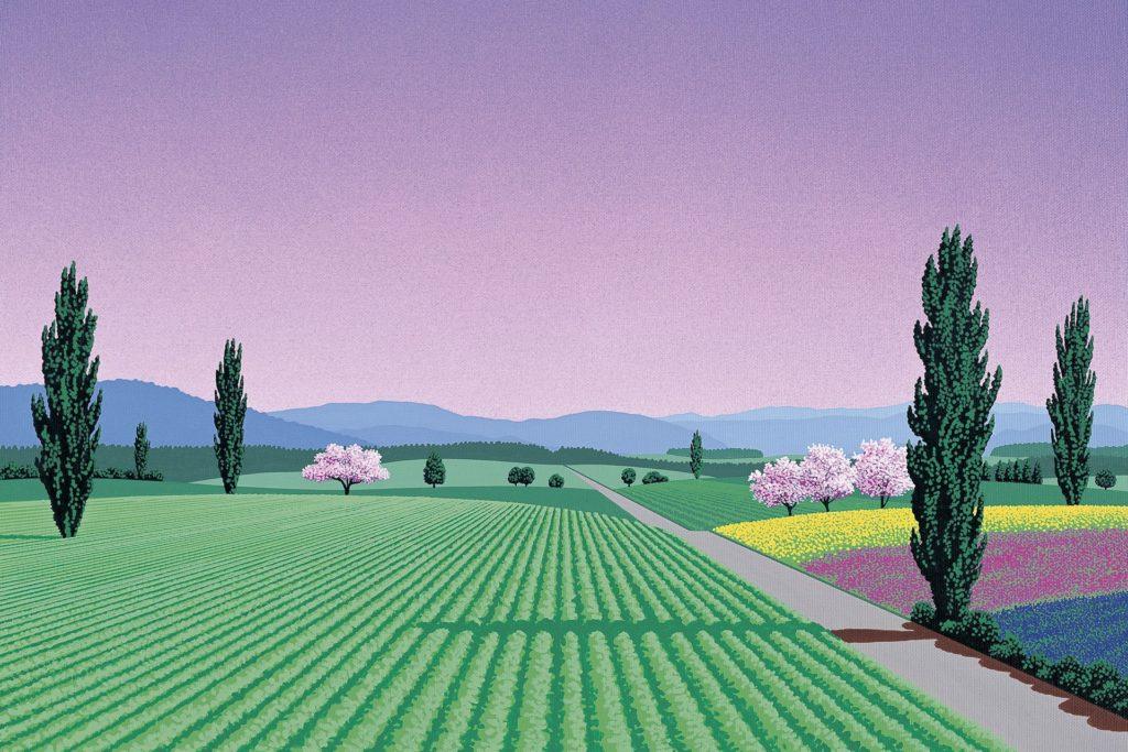 Хироси Нагаи - A beautiful morning