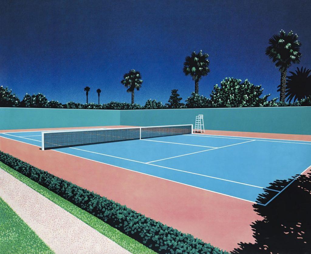 Хироси Нагаи - Tennis Court