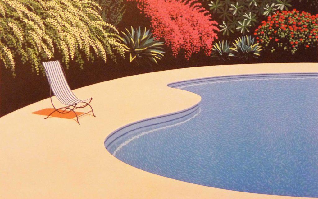 Хироси Нагаи - Poolside