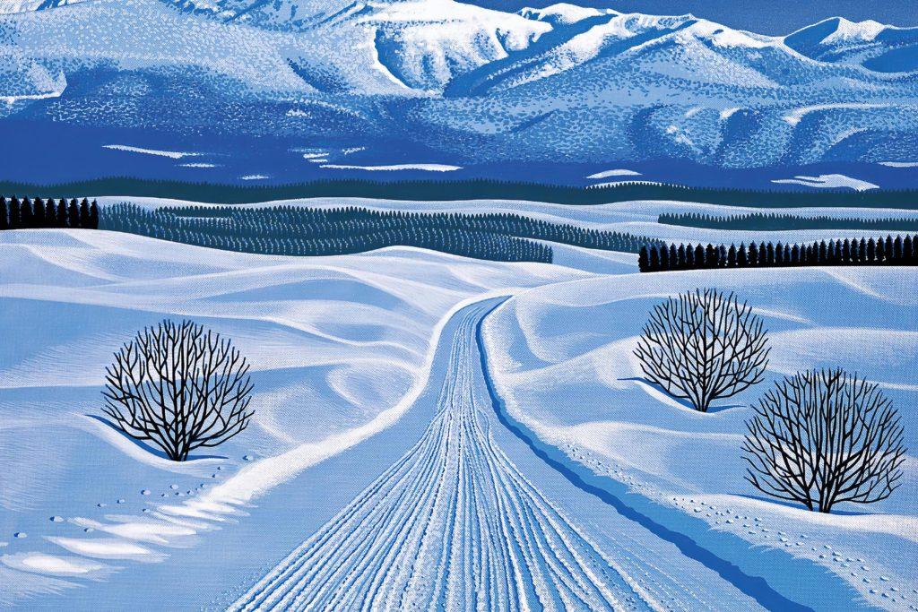 Хироси Нагаи - Winter Roads