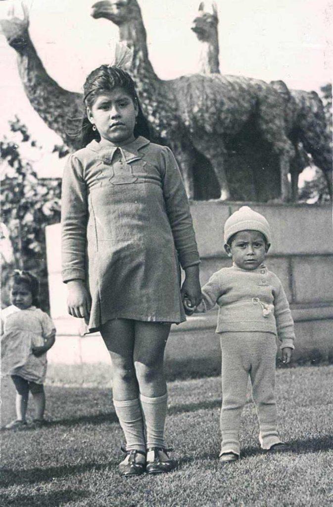 Лина Медина с сыном Герардо