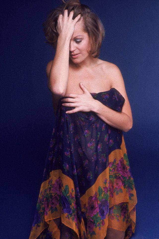 """Роми Шнайдер - """"Императрица красоты"""", фотографии Евы Серени, 1972"""