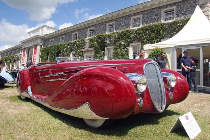 Delahaye Type 165 - самый красивый французский автомобиль