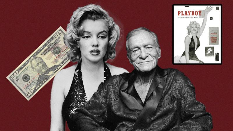 Мэрилин Монро в журнале Playboy