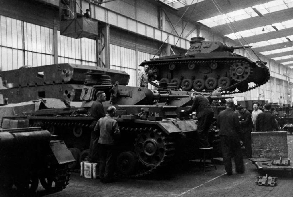 Производство танков Panzer