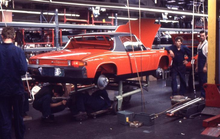 Окончательная сборка модели 914/6.