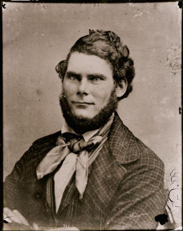 Мистер Уильям Мур, студия братьев Фримен, 1871-1880 гг.