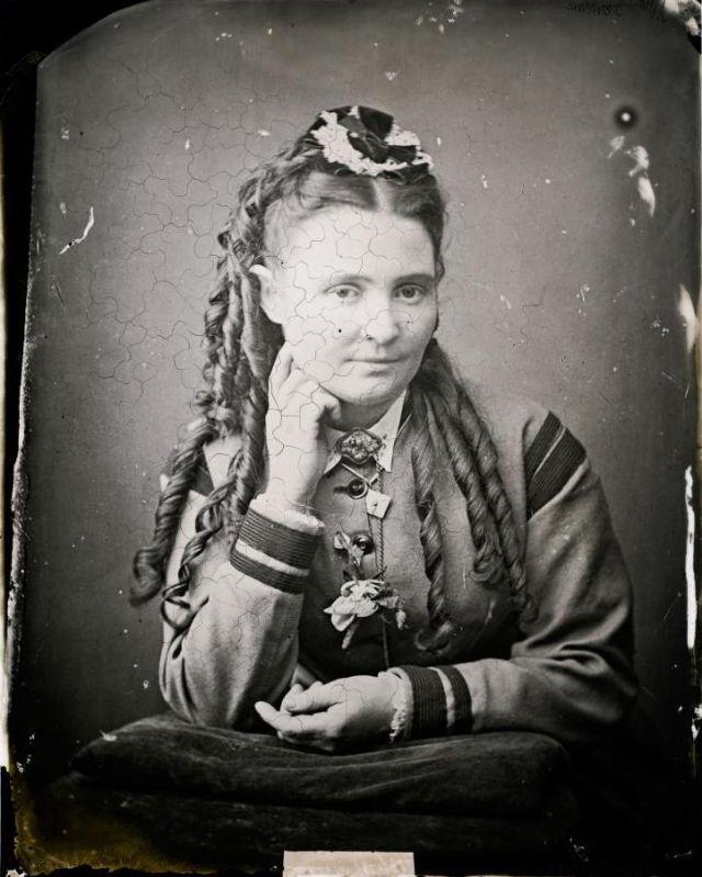 Миссис Дженкинс, студия братьев Фримен, 1871-1880 гг.