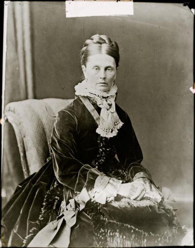 Миссис Йорк, студия братьев Фримен, 1871-1880 гг.