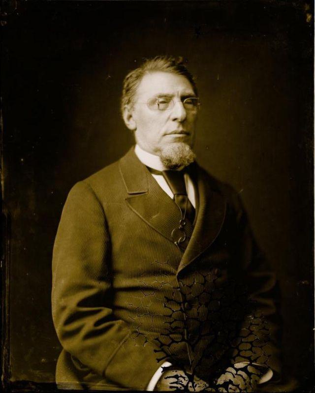 Портрет неизвестного мужчины, студия братьев Фримен, 1871-1880 гг.
