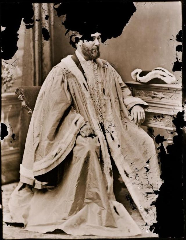 Чарльз Джеймс Робертс, мэр Сиднея, студия братьев Фримен, 1878-1879 гг.