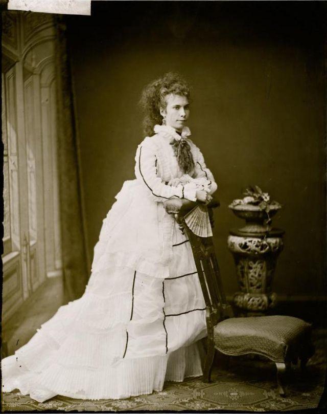Мисс Манро, Студия братьев Фримен, 1871-1880 гг.