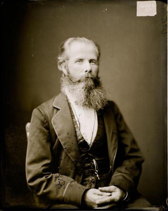 Мистер Фостер, студия братьев Фримен, 1871-1880 гг.