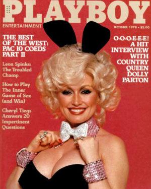 Долли Партон фото в журнале Playboy, 1978