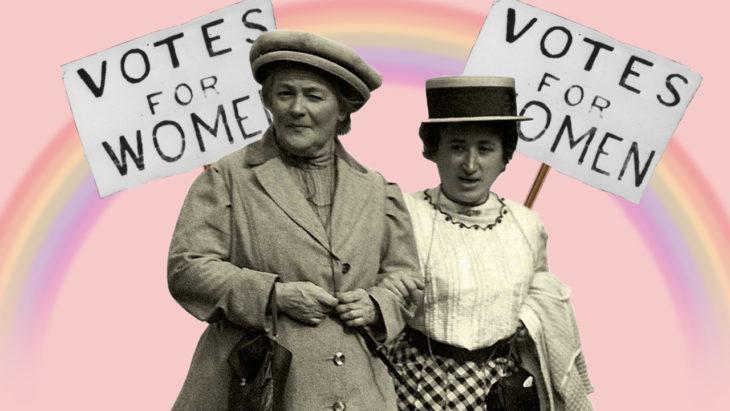 Феминизм в мировой истории. Источник: rarephotos.ru