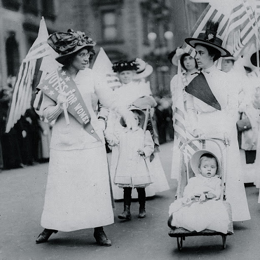 Голосуйте за женщин. Источник: Library of Congress. Феминизм в мировой истории