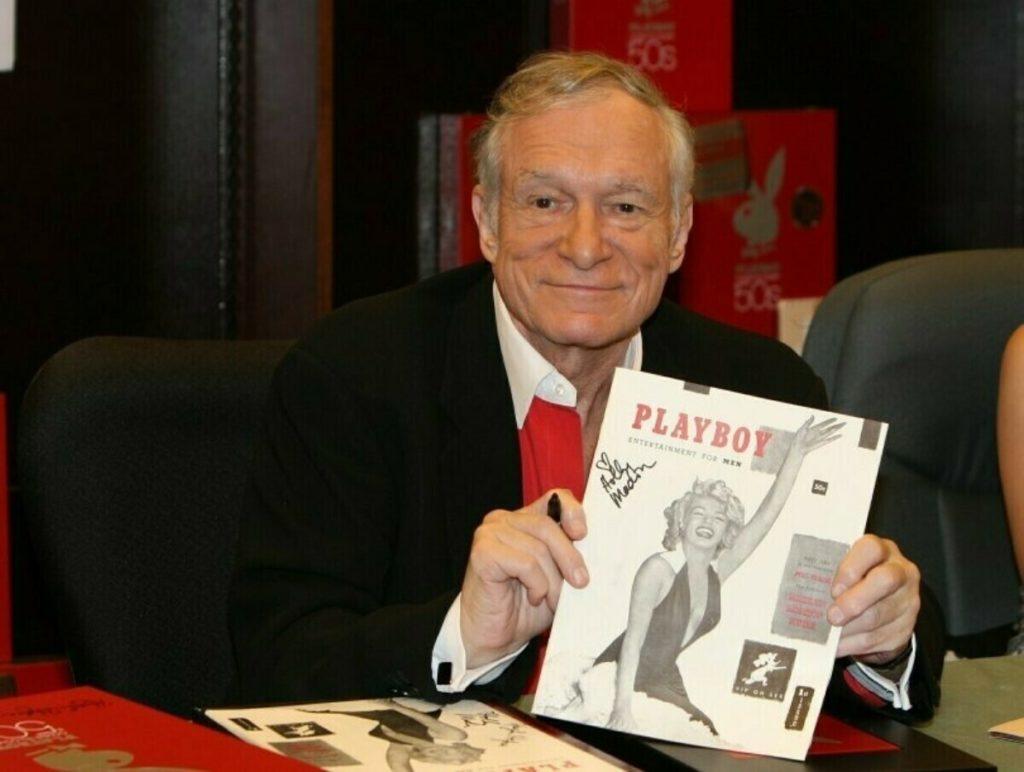 Хью Хефнер с первым выпуском журнала Playboy