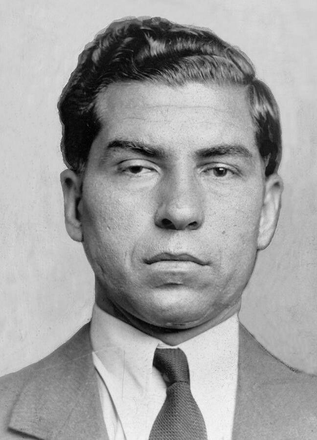 Чарльз «Счастливчик» Лучиано в 1936 году. Источник: Wikipedia