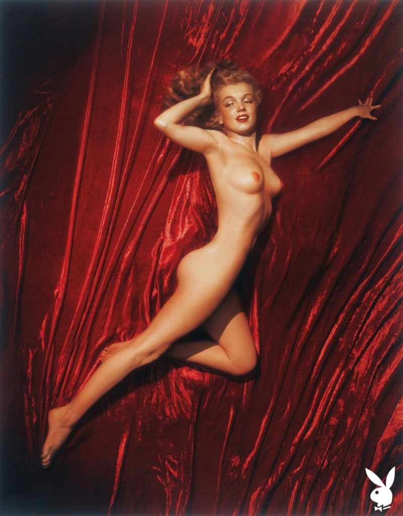 Мэрилин Монро в первом номере журнала Playboy, 1953 год.