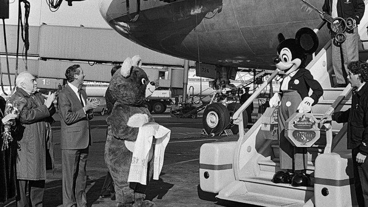 Микки Мауса: первый официальный визит в СССР, 1988
