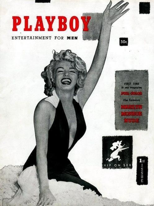 Первый номер журнала Playboy, 1953 год