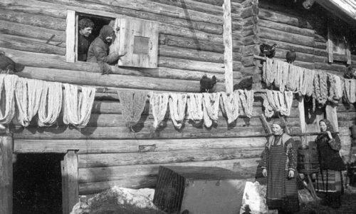 Крестьяне, начало XX века.