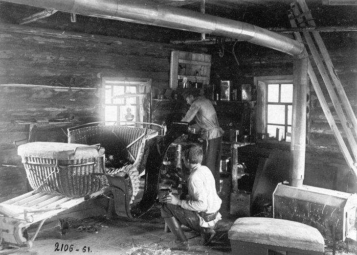 Экипажный промысел, Российская Империя, начало XX века.