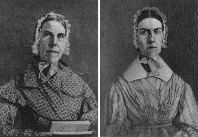 Сара и Ангелина Гримке. Источник: Library of Congress. Феминизм в мировой истории