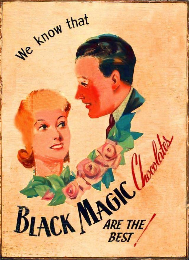 "Конфеты Black Magic, ""Черная Магия"""