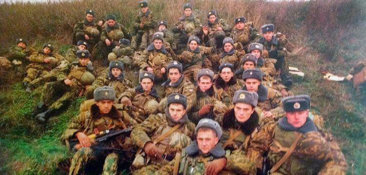 Фотография 6-й парашютно-десантной роты.