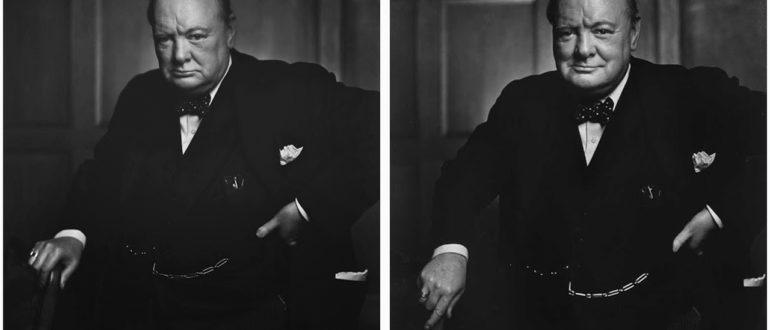 За кадром знаменитой фотографии с Уинстоном Черчиллем