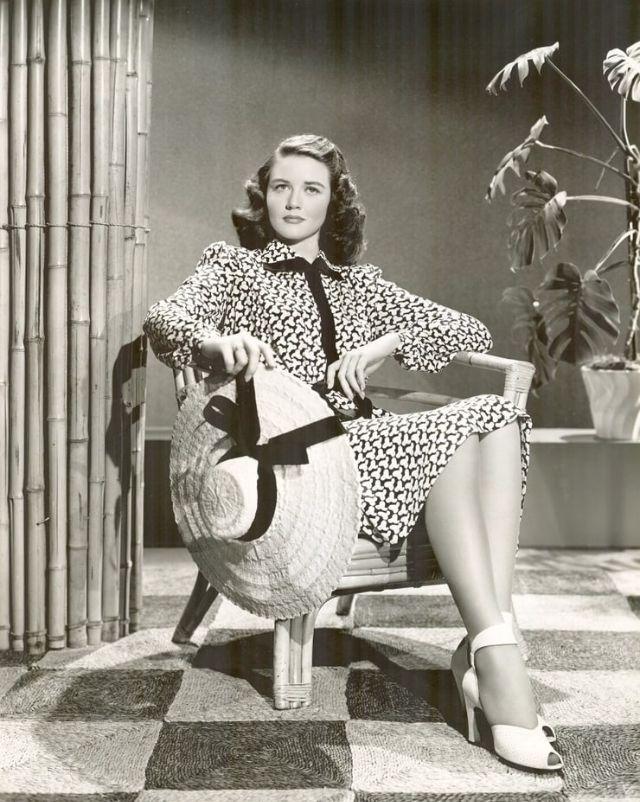 Дороти Мэлоун, гламурные фотографии 1940-1950