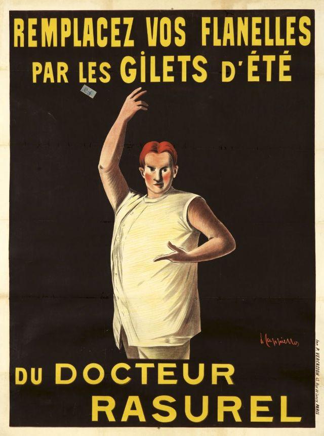 Gilets d'Ete du Docteur RASUREL, 1906