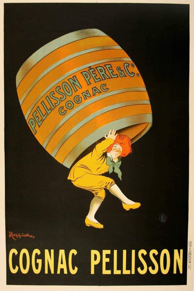 Cognac Pellisson, 1907