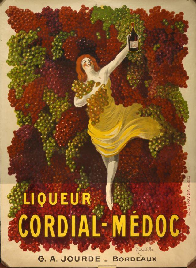Liqueur CORDIAL-MEDOC, 1907