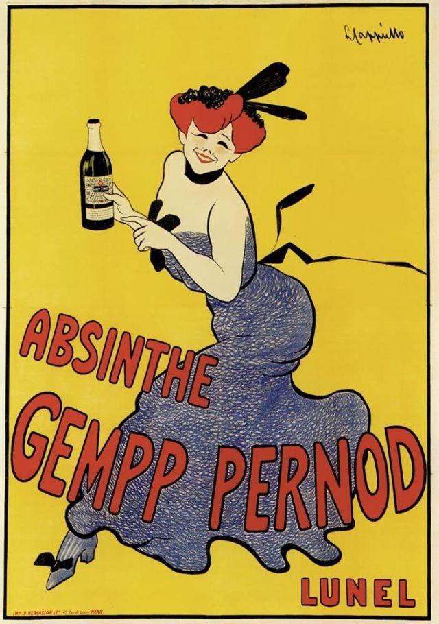 Absinthe Gempp Pernod, 1900