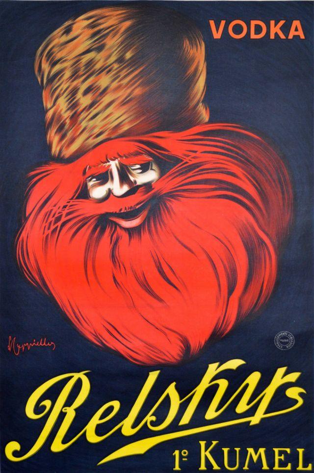Vodka RELSKYS 1˚ Kumel, 1910