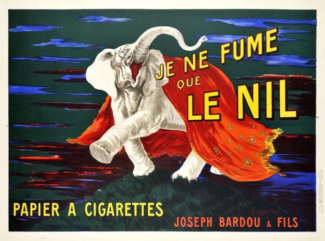 Je Ne Fume Que LE NIL - Papier A Cigarettes, 1912