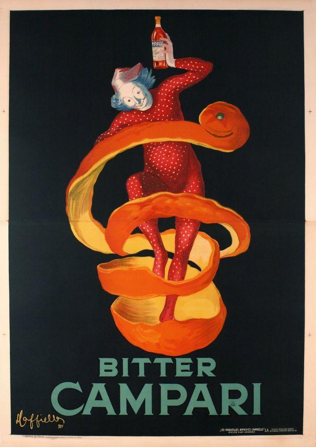 Bitter CAMPARI, 1921