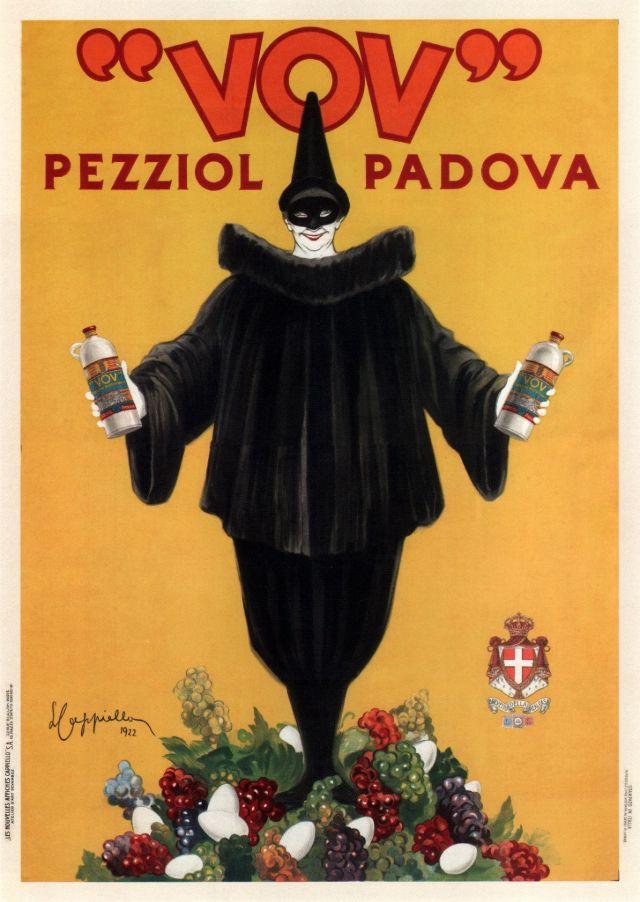 Alcohol VOV Pezziol, 1922
